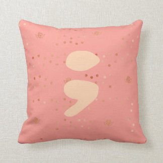 Semicolon Pillow