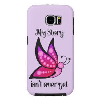Semicolon Suicide/Depression Awareness Butterfly Samsung Galaxy S6 Cases