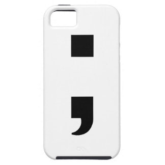 Semicolon Unique iPhone 5 Cover
