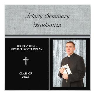 Seminary Graduation Photo Christian Invites