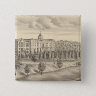 Seminary of St Francis of Sales, Milwaukee Co Wis 15 Cm Square Badge