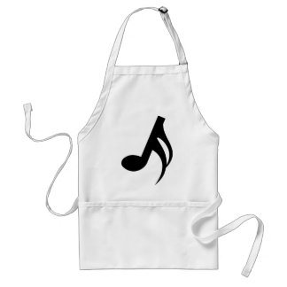 Semiquaver Musical Note Standard Apron