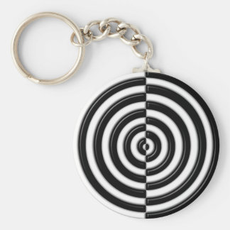 Semi's to play with your mind. basic round button key ring