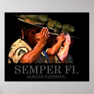 Semper Fi - Always Faithful Poster
