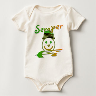 Semper Fi Baby Bodysuits