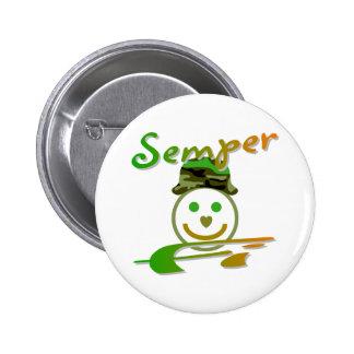 Semper Fi Button