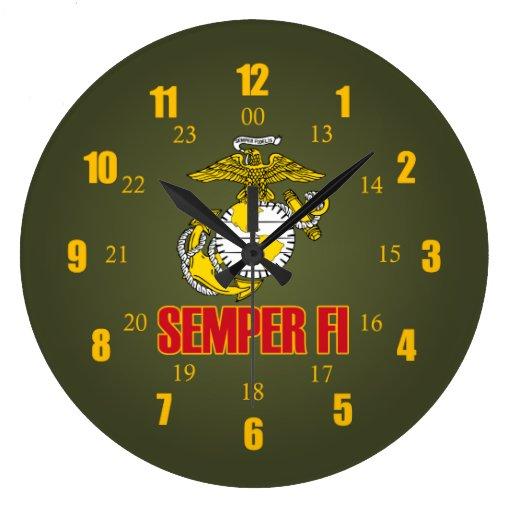 Semper Fi EGA Clocks