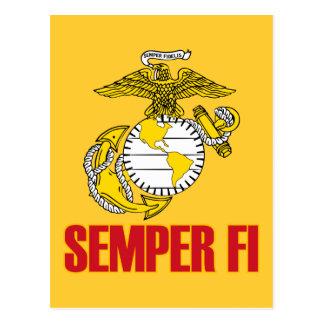 Semper Fi EGA Post Card