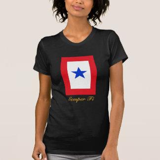 Semper Fi Family Flag T-Shirt