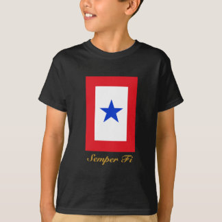 Semper Fi Family Flag Tshirt