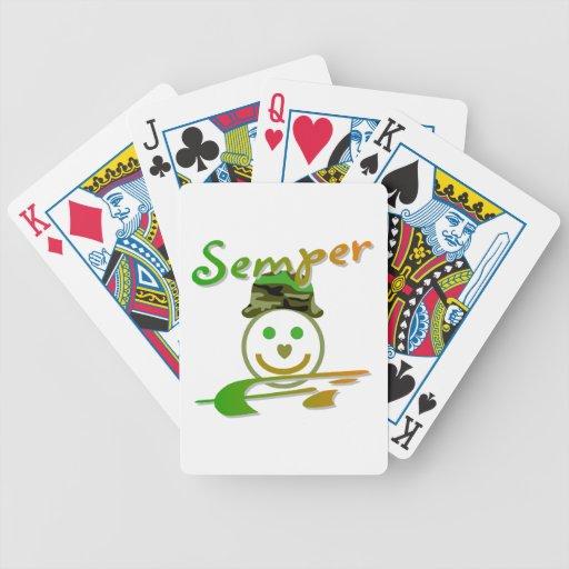 Semper Fi Poker Cards