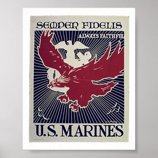 Semper Fi Poster