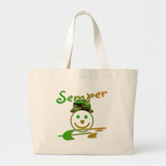 Semper Fi Jumbo Tote Bag