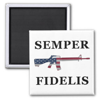 Semper Fidelis M16 Magnet