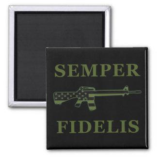 Semper Fidelis M16 Magnet Subdued Black