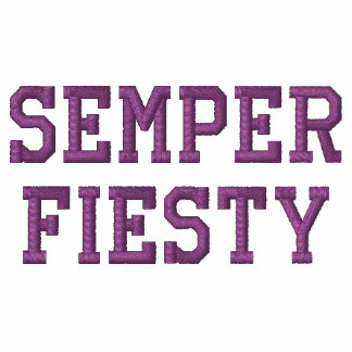 Semper Fiesty Embroidered Shirt