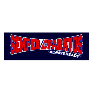 Semper Paratus - Always Ready Business Card