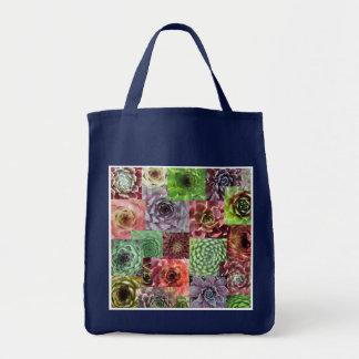 Sempervivum shopping bag