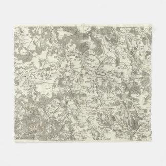 Semur, Montbard Fleece Blanket