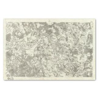 Semur, Montbard Tissue Paper