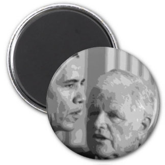 Sen.'Teddy' Edward Kennedy 6 Cm Round Magnet