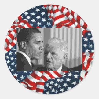 Sen.'Teddy' Edward Kennedy Round Sticker