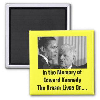 Sen.'Teddy' Edward Kennedy Square Magnet