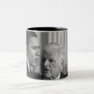 Sen.'Teddy' Edward Kennedy Two-Tone Coffee Mug