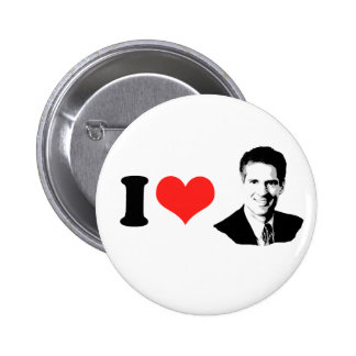 SENATOR SCOTT BROWN 6 CM ROUND BADGE