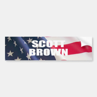 SENATOR SCOTT BROWN BUMPER STICKER