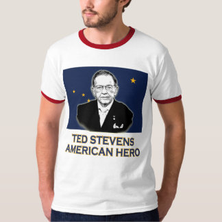 Senator Ted Stevens T-shirt,  American Hero Tee Shirts