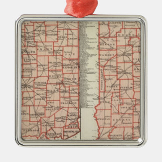 Senatorial districts 2 christmas ornament