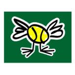 Send a tennis postcard by mail