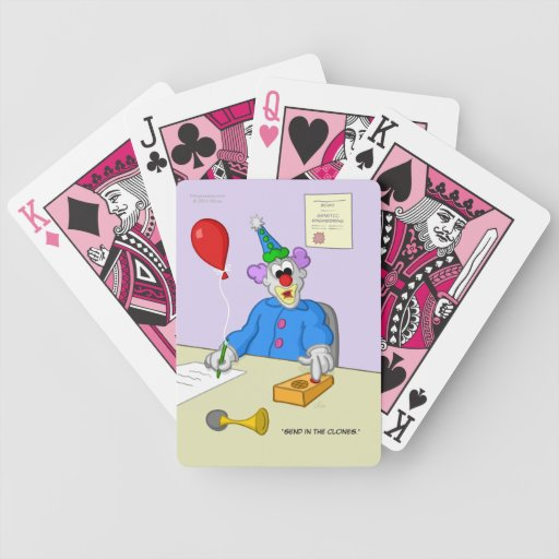 Send in the Clones Playing Cards