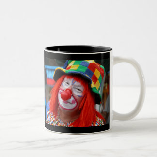 Send In The Clowns Two-Tone Mug