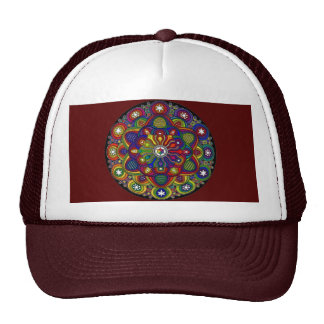 Send it to multicoloured love and protection - M2 Mesh Hats