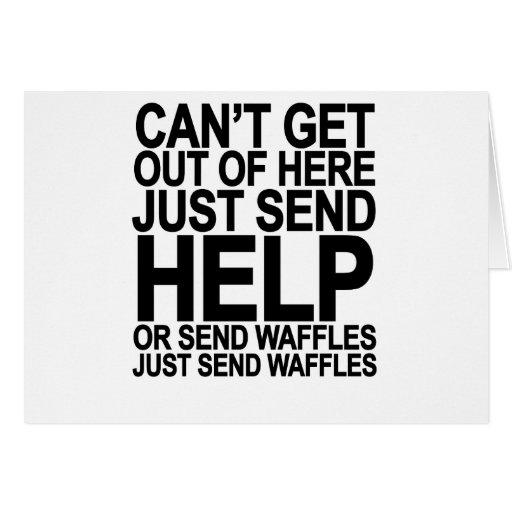 Send Waffles T-Shirt.png Card