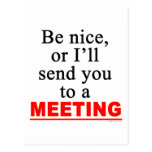 Send You To A Meeting Sarcastic Office Humour