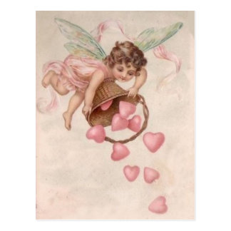 Sending Hearts Your Way Postcard