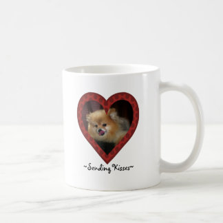 Sending Kisses Mug
