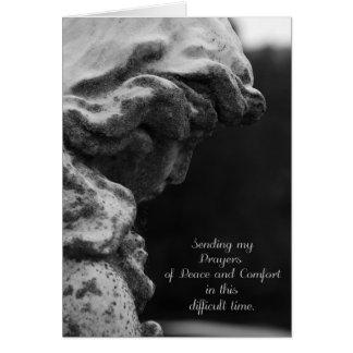 Sending Prayers of Peace and Comfort Card