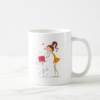 Sending Sweet Kisses Coffee Mug