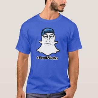 #SendNudes (blue beanie) T-Shirt