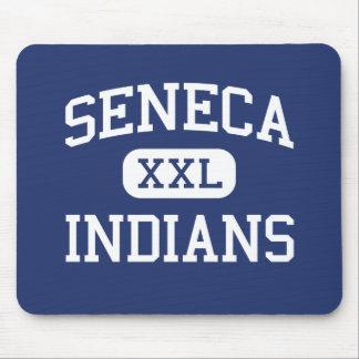 Seneca - Indians - High School - Seneca Wisconsin Mouse Pad