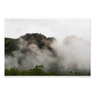 Seneca Rocks, West Virginia Photo Art