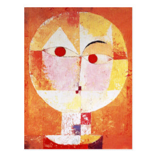Senecio by Paul Klee Postcard
