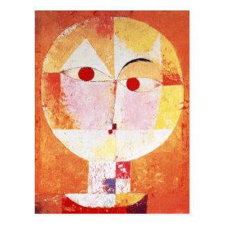 Senecio by Paul Klee Postcards