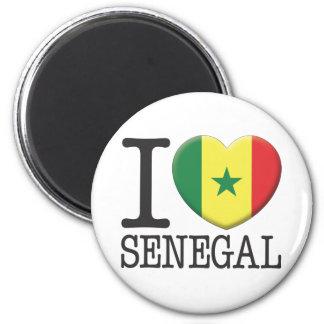 Senegal 6 Cm Round Magnet