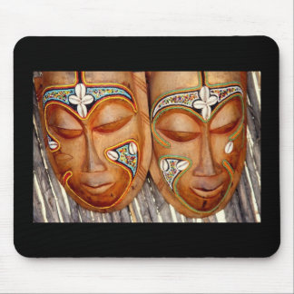 Senegal Art Mouse Pad