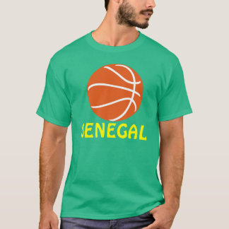 Senegal Basketball T-Shirt